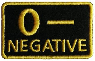 Motohog Unique Embroidered Sew on Patch (O-, Yellow)