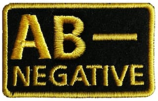 Motohog Unique Embroidered Sew on Patch (AB-, Yellow)