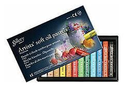 Mungyo Gallery Soft Oil Pastels Set of 12 - Assorted Colors
