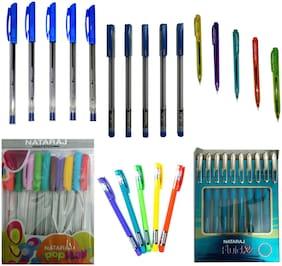 Nataraj Ball Pen ( Blue , Set of 6 )