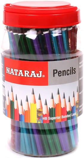 Nataraj Mettalic Pencils (Pack Of 100)