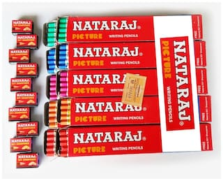Nataraj Picture Pencil (Pack Of 100+ 10 Sharpeners Free)