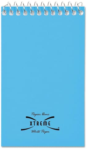 National Wirebound Memo Book Narrow Rule 3 x 5 White 60 Sheets 31120