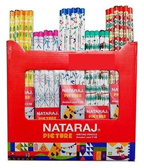 Natraj Picture Pencil (Pack of 100 Pencils)