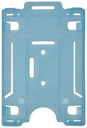 NEHA ID CARD HOLDER ( BLUE TRANSPARENT ) ( PACK OF 10 )