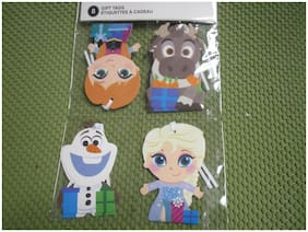 """New ! 8 ct  Disney Frozen Paper Holiday Gift Tags size: 4"""" X 2 3/4 """""""