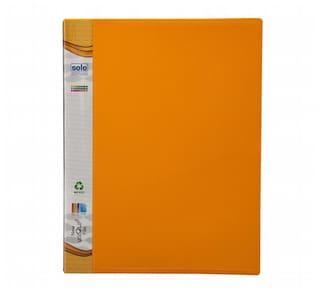 New Uniqlip File (pack Of 5) - Yellow