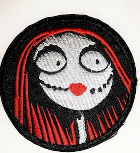 """Nightmare Before Christmas Movie Sally 3.5 """" Embroidered Patch"""
