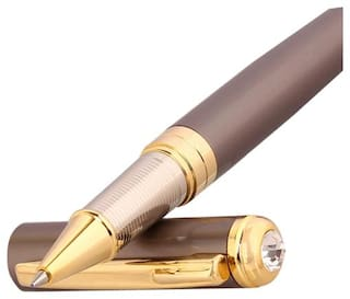 """Oculus """"Select-1502"""" Smooth Satin Rose Gold Metallic Finish Elegant Ball Pen, Fitted with Germany Made Refill."""