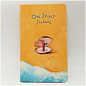 One Spirit Journal Cover Art Paul Zwolak Paperback Blank Diary White Pages USA