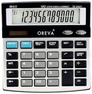 OREVA OR-612 Check & Correct calculator