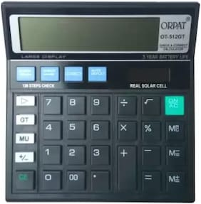 Orpat 0.45 Calculator OT-512GT Basic Black