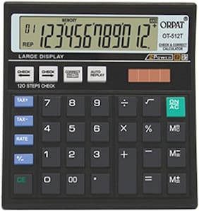Orpat 0.7 Calculator OT-512GT Basic Black
