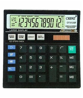 Orpat OT-512GT Check And Correct Calculator