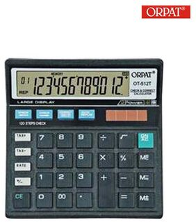 Orpat Ot-512T Check & Correct Calculator