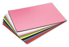 Pacon Riverside Construction Paper 76 lb 18 x 24 Assorted 50 Sheets/Pack 103478