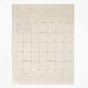 Paper Source - Calendar - Tall on Wall - 2020