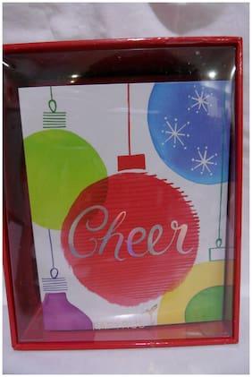 "PAPYRUS ""Cheer"" Christmas cards - set of 20 NIB"