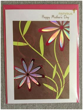 Papyrus  Mothers Day Card New & Sealed w/Envelope m8