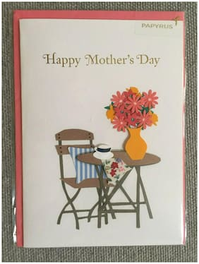 Papyrus  Mothers Day Card New & Sealed w/Envelope m6