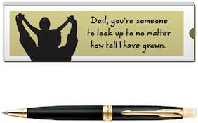 Parker Aster Matte Black GT Ball Pen