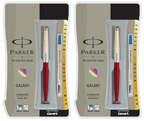 Parker Galaxy Std GT BP Red Body (Pack of 2)
