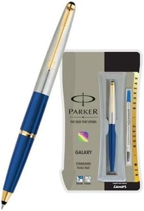 Parker Galaxy Roller Ball Pen - Blue Body;Blue Ink