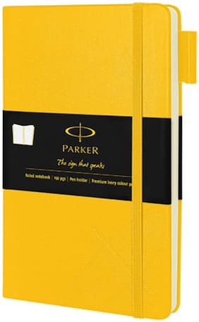 Parker Notebook (Yellow)