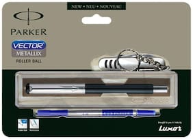 Parker Vector Mettalix (with swiss knife) CT Roller Ball Pen