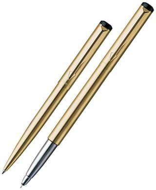 Parker Vector Gold Roller Ball and Ball Pen