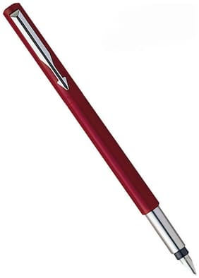 Parker Vector Standard CT Fountain Pen (Red)
