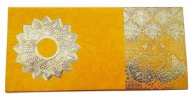Parvenu Shagun Golden Duck Gift Envelope in Multi Color.Pack of 50 Pieces.