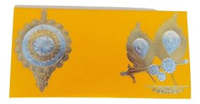 Parvenu Shagun Fancy Murli Envelope.Pack of 40 Pieces.