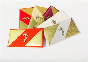 Parvenu Shagun Single Piece Ganesha Envelope in Multi Color.