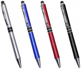 Peepalcomm Ball Pen ( Blue , Set of 4 )