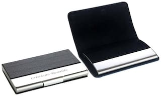 Personalized Leather Visiting card holder Carries 10 to 15 Cards
