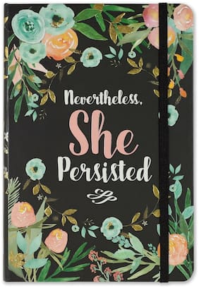 Peter Pauper Press - Dot Journal - Nevertheless She Persisted