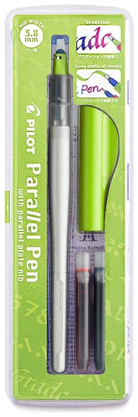 Pilot Parallel Pen 3.8 mm Set with Cartridge