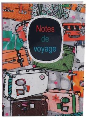 Pinaken Notes De Voyage Multicolor Luxury Flexible Paper Cover Notebook 6x4