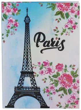 Pinaken Paris Eiffelterm Multicolor Luxury Flexible Paper Cover Notebook 6x4