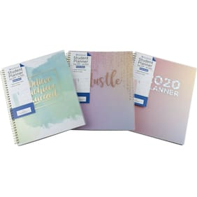 """PlanAhead 2019 2020 Student Monthly Weekly Planner Agenda School Class 9""""x11"""""""