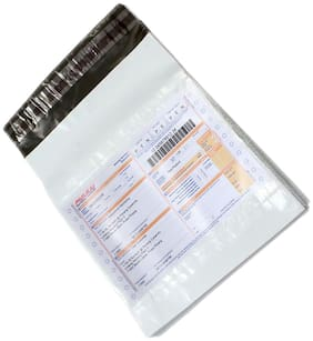 PolyBags with POD - Tamper Proof Mailing Bags ( 6x6 inch ) Pack of 100 pcs By Dispatchwala