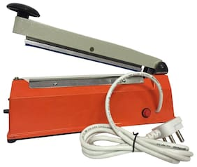 Power Pack Hand Sealing Machine 12 Inch - Orange