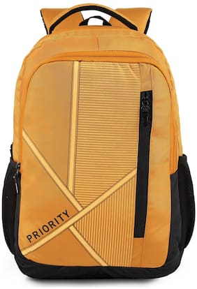 Priority 40 School bag - Yellow & Black