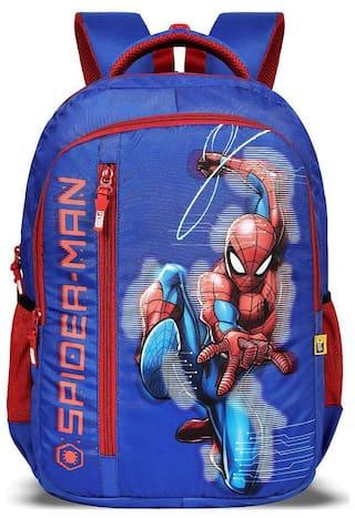 Priority 40 School bag - Blue & Red
