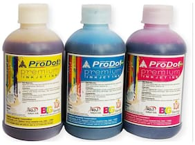 prodot 200ml color ink,set of 3,for use in hp pritners