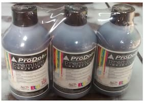 prodot 200ml black ink for use in refill of hp printers