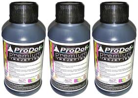 Prodot Plus Premium Inkjet Ink 100 ml (Black) (Pack of 3)
