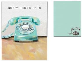 Punch Studio Molly & Rex E7 Pocket Note Pad Retrospect - Choose Design