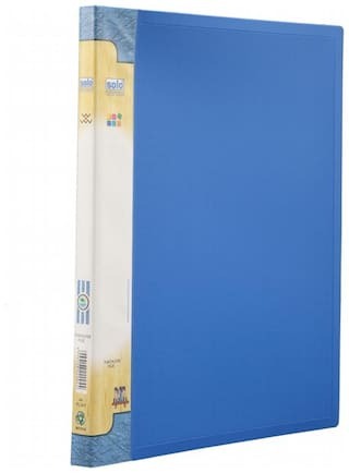 Punchless File (lever Clip) (pack Of 5) - Blue